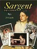 Sargent, John Singer: Sargent Paintings Cards (Card Books)