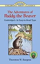 The Adventures of Paddy the Beaver (Dover…