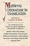 Jones, Charles Williams: Medieval Literature in Translation