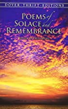 Poems of Solace and Remembrance (Dover…