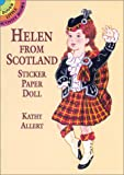 Allert, Kathy: Helen from Scotland Sticker Paper Doll
