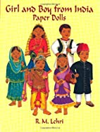 Girl and Boy from India Paper Dolls by R. M.…