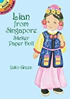Lian from Singapore Sticker Paper Doll…