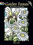 Garden Fairies Stained Glass Coloring Book…