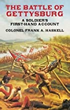 The Battle of Gettysburg by Franklin Aretas…