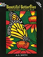 Beautiful Butterflies Stained Glass Coloring…