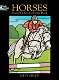 Green, John: Horses Stained Glass Coloring Book (Dover Nature Stained Glass Coloring Book)