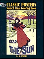 Classic Posters Stained Glass Coloring Book…