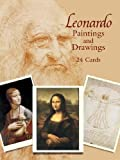 Leonardo da Vinci: Leonardo Paintings and Drawings: 24 Cards (Dover Postcards)