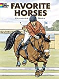 Green, John: Favorite Horses Coloring Book (Dover Nature Coloring Book)