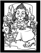 The Land of Oz Stained Glass Coloring Book…