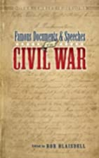 Famous Documents and Speeches of the Civil…