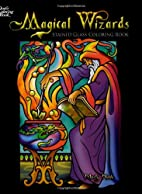 Magical Wizards Stained Glass Coloring Book…