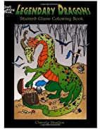 Legendary Dragons Stained Glass Coloring…