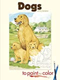John Green: Dogs to Paint or Color (Dover Art Coloring Book)
