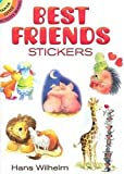 Hans Wilhelm: Best Friends Stickers (Dover Little Activity Books Stickers)