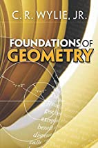 Foundations of geometry by Clarence Raymond…