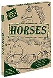 Dover: Dover Coloring Box -- Horses (Dover Fun Kits)