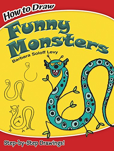 how-to-draw-funny-monsters-dover-how-to-draw