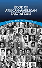 Book of African-American Quotations by…