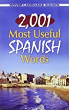 2,001 Most Useful Spanish Words (Dover…