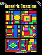 Geometric Obsessions Stained Glass Coloring…