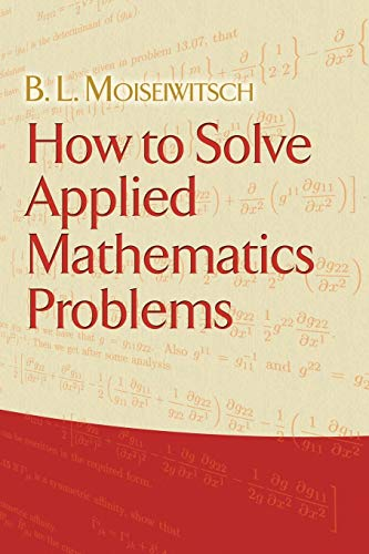 how-to-solve-applied-mathematics-problems-dover-books-on-mathematics