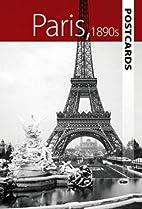 Paris, 1890s Postcards by Dover Publications…