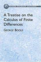 Calculus of finite differences by George…
