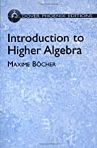 Introduction to higher algebra by Maxime…