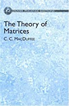 The theory of matrices by Cyrus Colton…