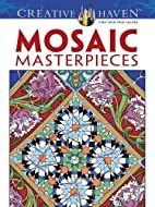 Mosaic Masterpieces Coloring Book by Marty…