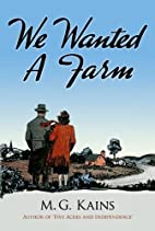 We Wanted a Farm (Dover Books on Herbs,…