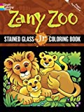 Swanson, Maggie: Zany Zoo Stained Glass Jr. Coloring Book