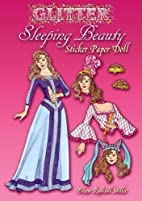 Glitter Sleeping Beauty Sticker Paper Doll…