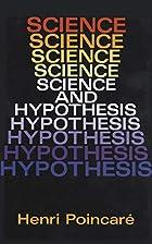 Science and Hypothesis by Henri Poincaré