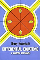 Differential Equations: A Modern Approach by…