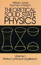 Theoretical Solid State Physics, Vol.1:…