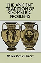 The Ancient Tradition of Geometric Problems…
