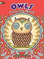 Owls Coloring Book (Dover Coloring Books) by…