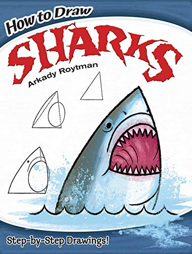 how-to-draw-sharks-dover-childrens-activity-books