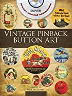 Vintage Pinback Button Art CD-ROM and Book…