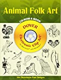 Madeleine Orban-Szontagh: Animal Folk Art CD-ROM and Book (Dover Electronic Clip Art)