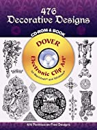 476 Decorative Designs CD-ROM and Book by…