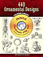 440 Ornamental Designs CD-ROM and Book by…