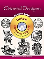 Oriental Designs by Dover Publications Inc.