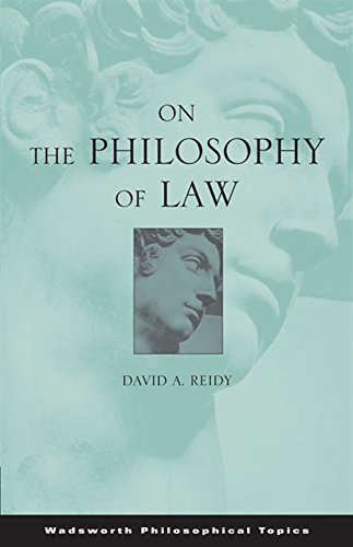 on-the-philosophy-of-law-wadsworth-philosophical-topic