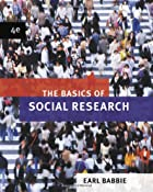 The Basics of Social Research by Earl R.…