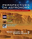 Seeds, Michael A.: Bundle: Perspectives on Astronomy, Media Edition (with CengageNOW, Virtual Astronomy Labs Printed Access Card) + The Night Sky Planisphere - Latitude 30 to 40