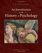 An Introduction to the History of Psychology…